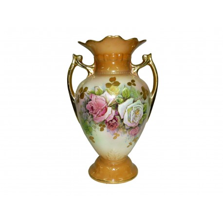 Hand Painted Vase New Zealand Vintage Collectables Antiques Retro