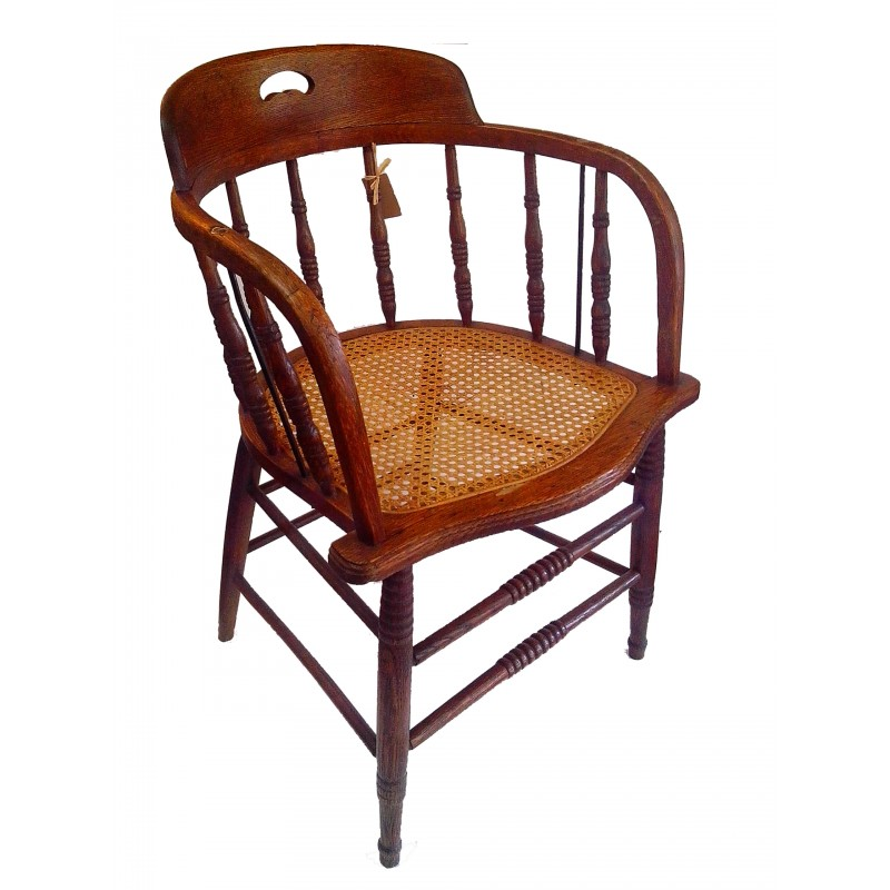 Captains Chair from New Zealand Collectables, dealers in antique furniture,  retro furniture and collectable - Captains Chair - New Zealand Vintage Collectables, Antiques & Retro