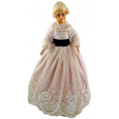 Crinoline Half Doll New Zealand Collectables